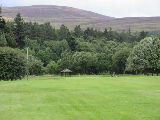 Ballater Golf Course, 3rd hole, The Dooker