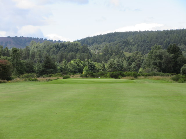 Ballater Golf Course, 4th hole, Invermuik