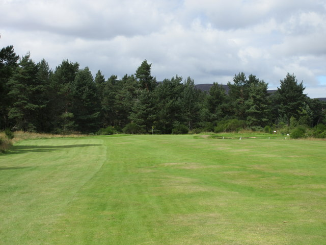 Ballater Golf Course, 6th hole, Lang Peel