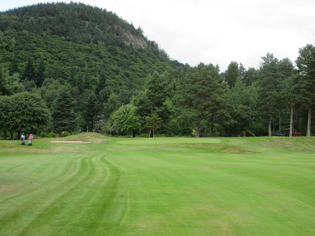 Ballater Golf Course, 11th hole, Craigendarroch