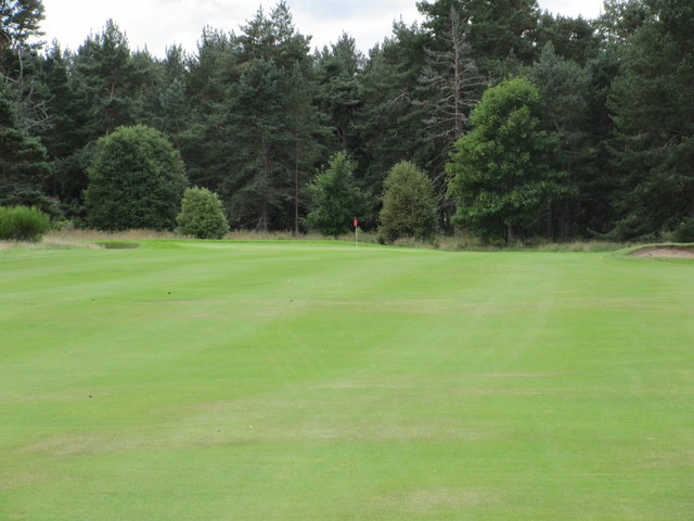 Ballater Golf Course, 12th hole, Red Brae