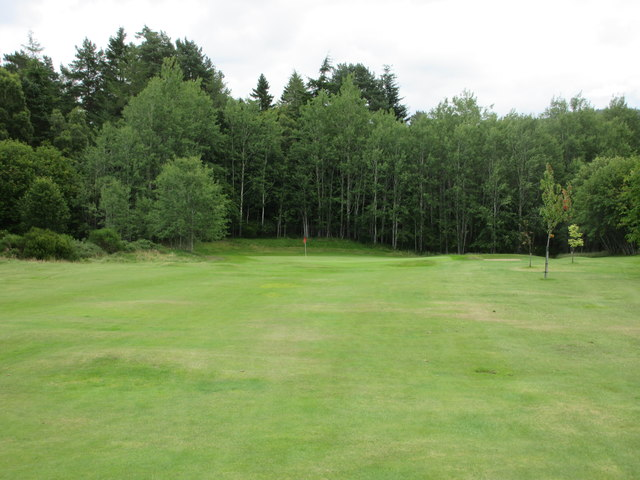 Ballater Golf Course, 14th hole, Sluie's