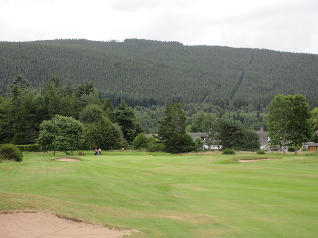 Ballater Golf Course, 15th hole, Craigcoilich