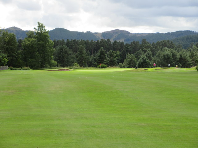 Ballater Golf Course, 16th hole, Lochnagar
