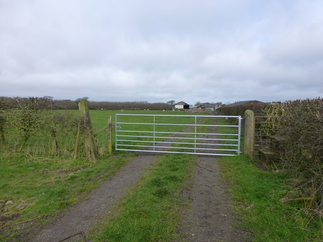 Gate at Gibsons Farm