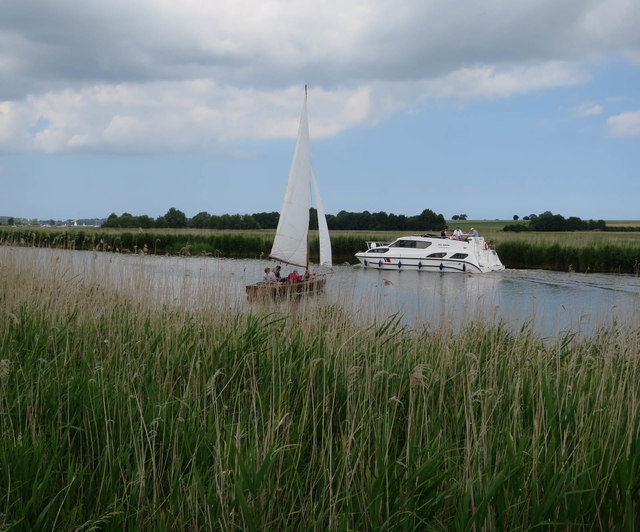 Boats on the Bure