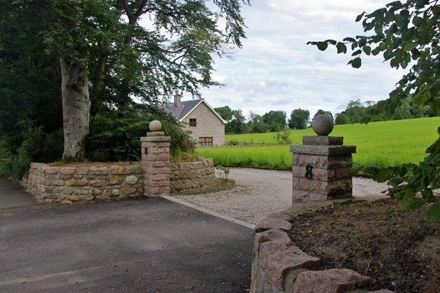 House on the edge of Blackburn
