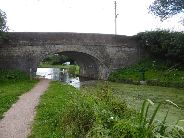 Fossend Bridge between Burlescombe and Westleigh