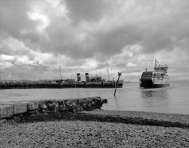 Old Fish Quay - Largs