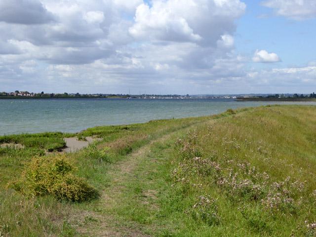Seawall, Longpole Reach, River Crouch
