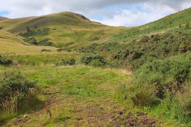Hare Burn, Pentland Hills
