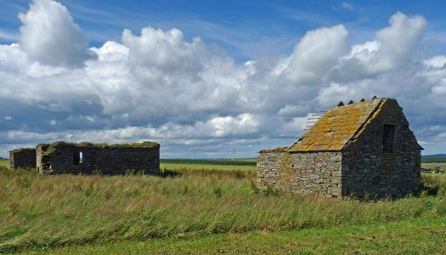 Ruined farmstead, Scoolary, Caithness