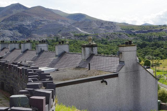 Bethesda rooftops
