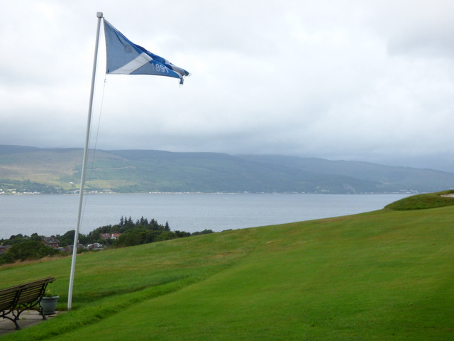 Skelmorlie Golf Club flag