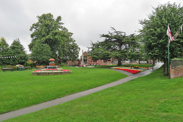 Belper War Memorial Gardens