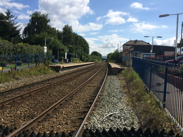 Buckley railway station, Flintshire