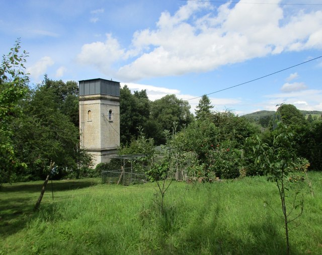 Water tower on Frome Hall Lane