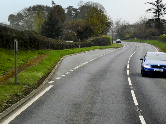A483 Layby north of Berriew
