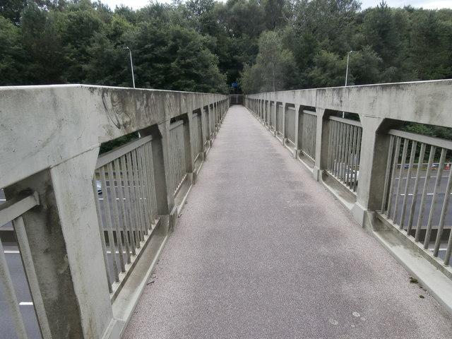Footbridge over the A470, Pontypridd