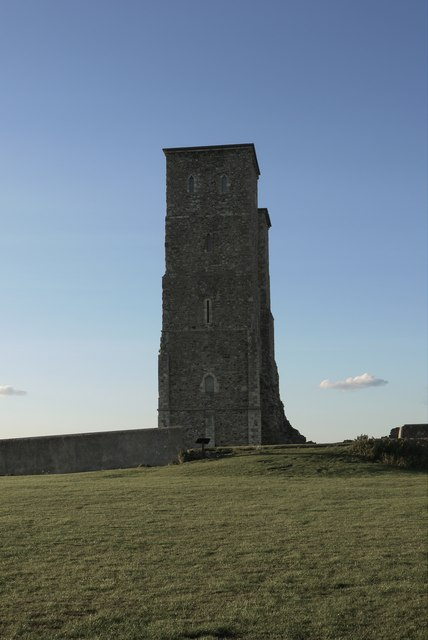 Reculver: the twin towers from the south (1)