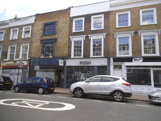 Shops on Park Way, Kentish Town