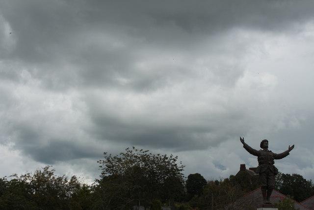 Dark Sky at War Memorial, Dumfries