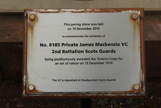 James Mackenzie VC