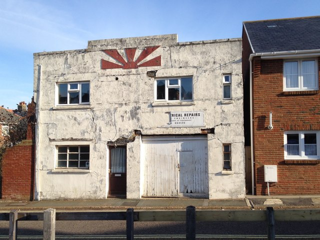 The former Sunshine Creameries, Orchardleigh Road, Shanklin