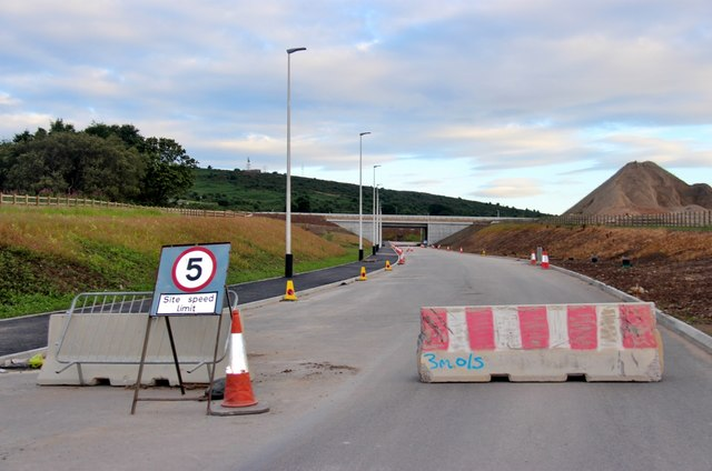 New road at Aberdeen bypass
