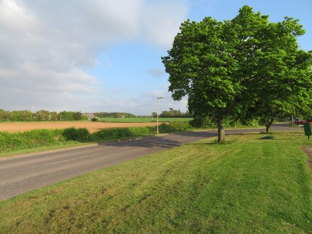 St John's Road by Breach Farm