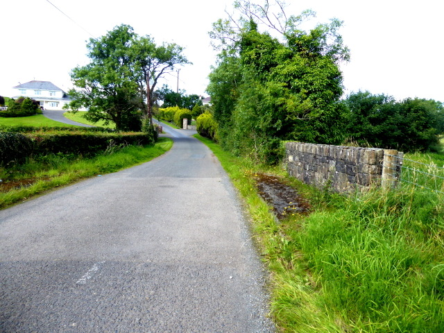 Small bridge along Letfern Road