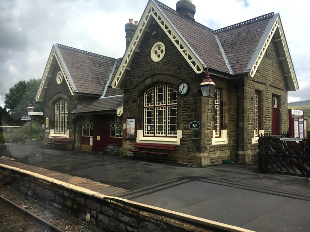 Horton in Ribblesdale railway station