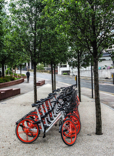 Manchester Mobikes