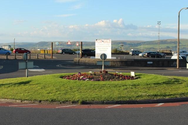 Roundabout at Port Rodie, Stranraer