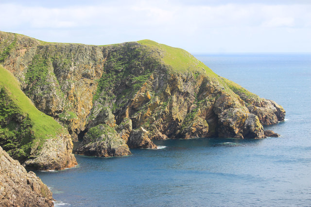 Cliffs at  the Horse of Burravoe
