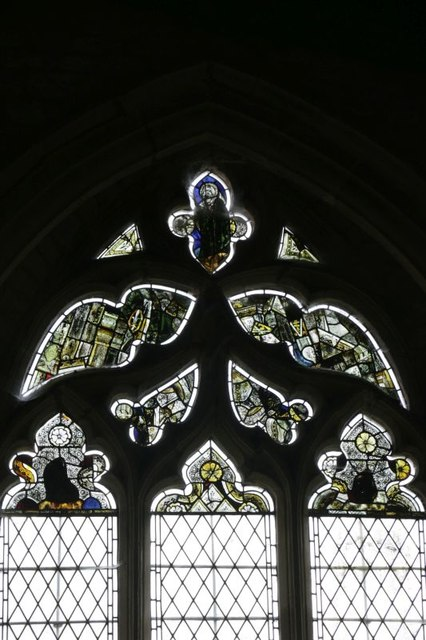 Stained Glass in the South Aisle