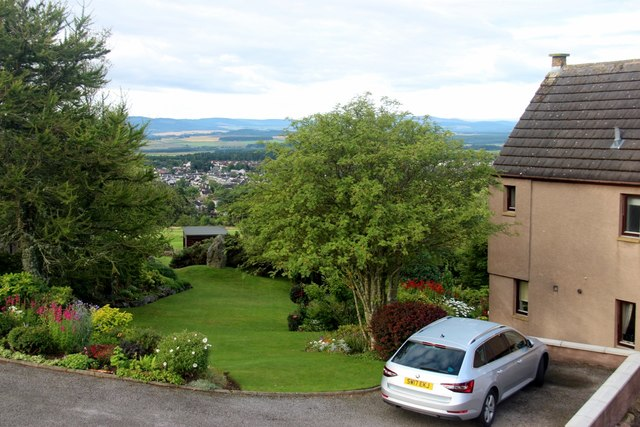Private house garden on Westhill Heights