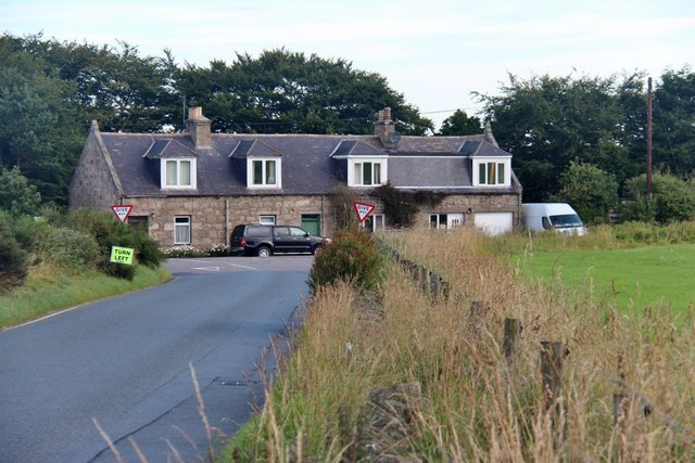 House at the crossroads on B979