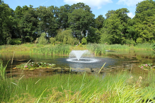 Fountain, Dumfries House Estate