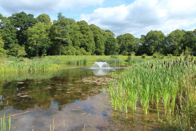 Lake, Dumfries House Estate
