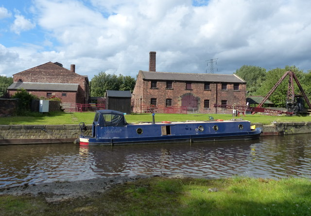 Thwaite Mills and the Aire and Calder Navigation