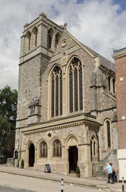 Sacred Heart Roman Catholic church, Exeter