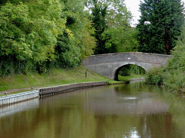 Swanley Bridge south of Burland in Cheshire