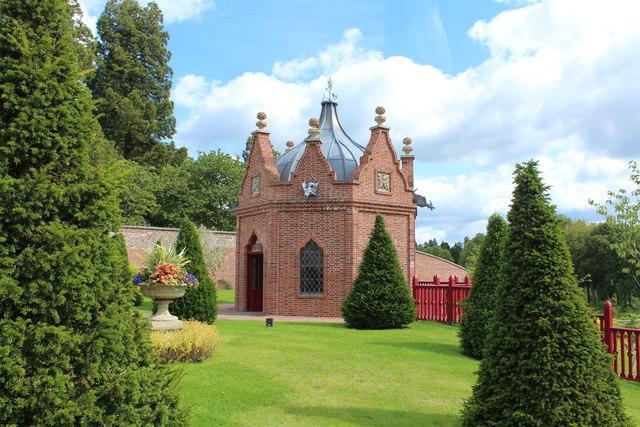 The Belvedere Folly, Queen Elizabeth Gardens