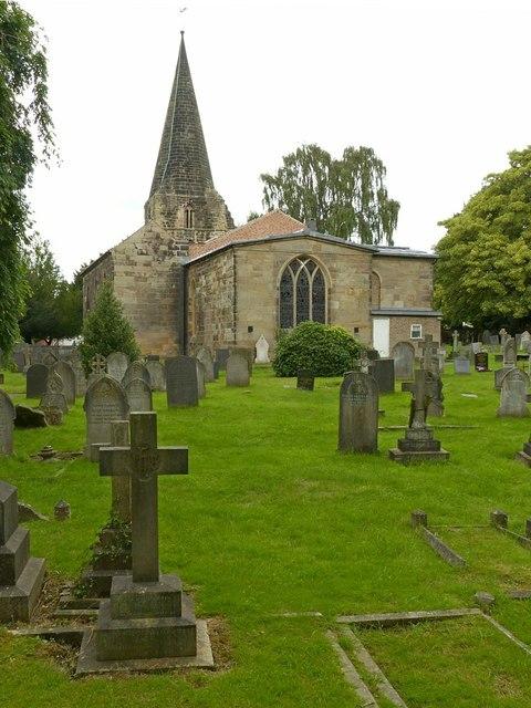 Church of All Saints, Ockbrook