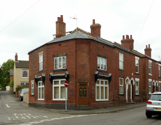 Former corner shop, Church Street, Ockbrook