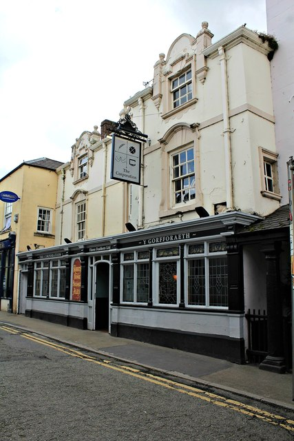 The Corporation Arms, Ruthin