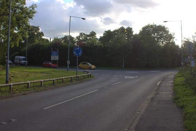 Junction of Welley Road and Datchet Road