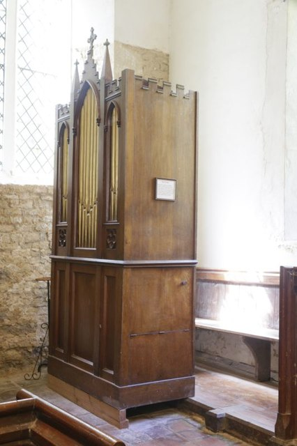 Barrel Organ in the North Aisle