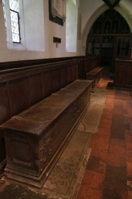 Chests in the North Aisle
